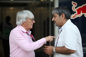 Formula 1 Breaking news Ecclestone still wants F1 future for India - Chandhok