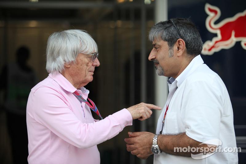 Ecclestone still wants F1 future for India - Chandhok