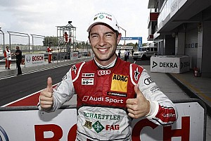 DTM Qualifying report Rockenfeller is on pole for series premiere in Moscow
