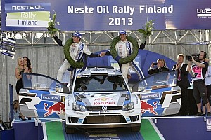 WRC Race report Victory for Ogier in Rally Finland