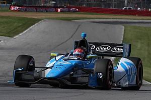 IndyCar Race report Schmidt Hamilton's Pagenaud on podium in Indy 200 at Mid-Ohio