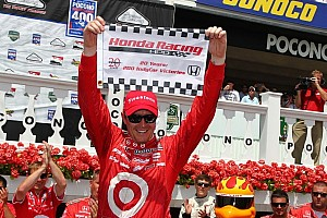 IndyCar Commentary Honda on the upswing