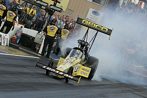 NHRA Preview Perfect time for Top Fuel driver Lucas as series head to BIR