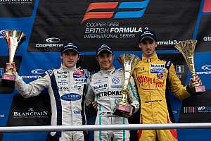 BF3 Race report Carlin's Jaafar fends off King for Brands win
