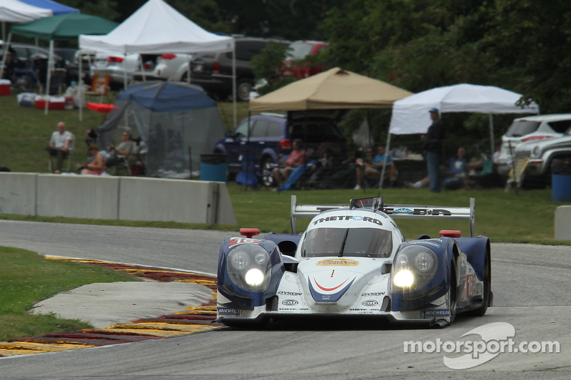Dyson racing is second on round 6 at road america for Mazda motor of america inc