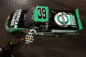 NASCAR Truck Breaking news  NASCAR Hall of Fame unveils Dillon's truck from historic Eldora win