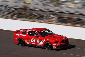 Grand-Am Practice report Billy Johnson leads opening CTSCC practice at Kansas Speedway