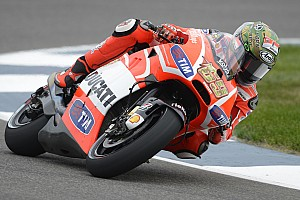 MotoGP Practice report Ducati Team back in action in Indianapolis