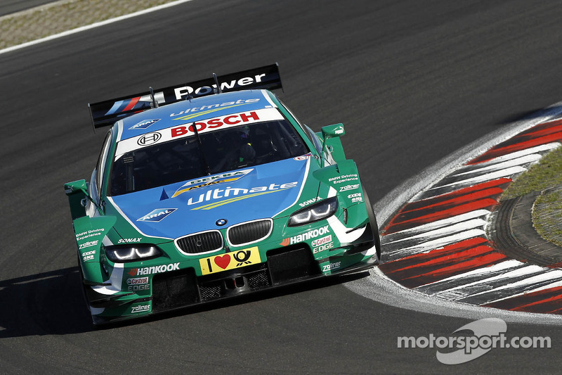 Eventful race at the Nürburgring: Farfus runner-up to claim podium for BMW