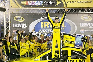 NASCAR Cup Race report Kenseth gets season win number five at Bristol