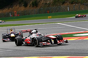 Formula 1 Race report McLaren's Button finished as started at Spa-Francorchamps