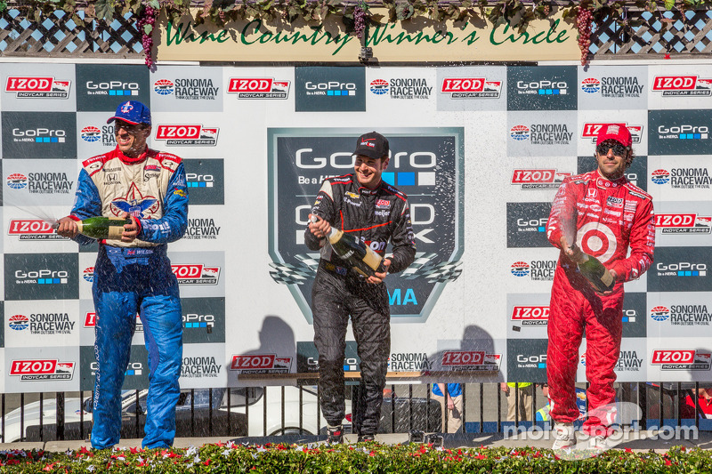 Power scores first win at Sonoma