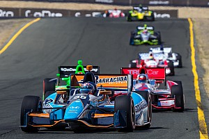 IndyCar Race report Barracuda Racing brings home 16th in unusual race at Sonoma