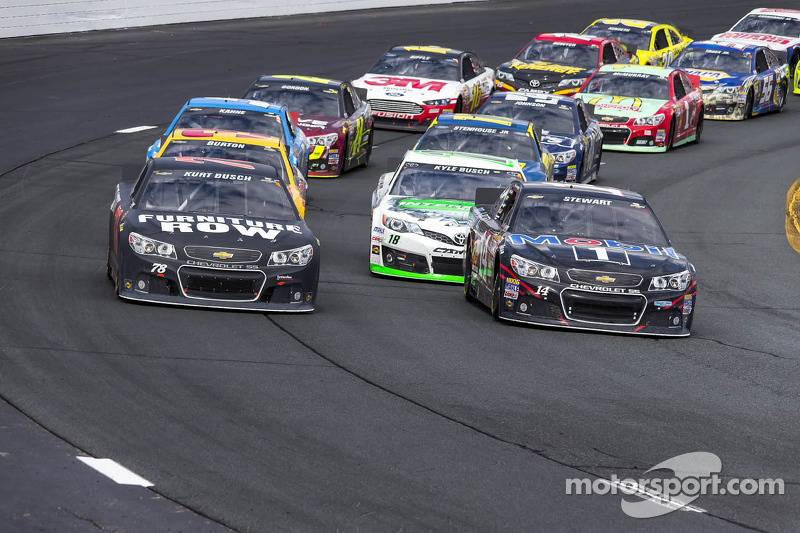 Kurt Busch's move to Stewart-Haas came together at lightning speed