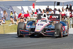 IndyCar Practice report Power was the quickest of the 12 Team Chevy drivers at Baltimore