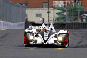 ALMS Race report Muscle Milk wins crazy, shortened Baltimore race and takes P1 Championship