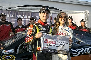 NASCAR Cup Qualifying report Gordon blazes to track record at Richmond