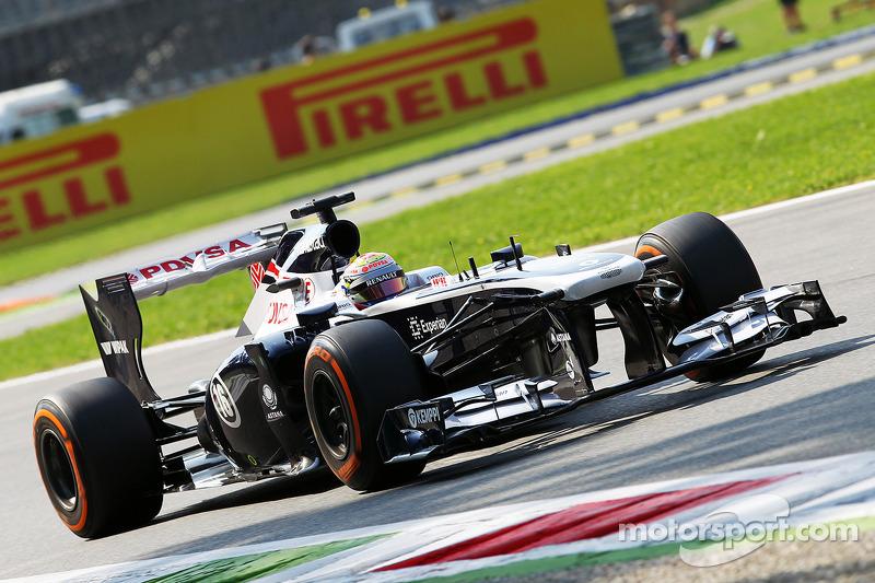 Maldonado qualified 14th with Bottas 18th for tomorrows Italian Grand Prix.