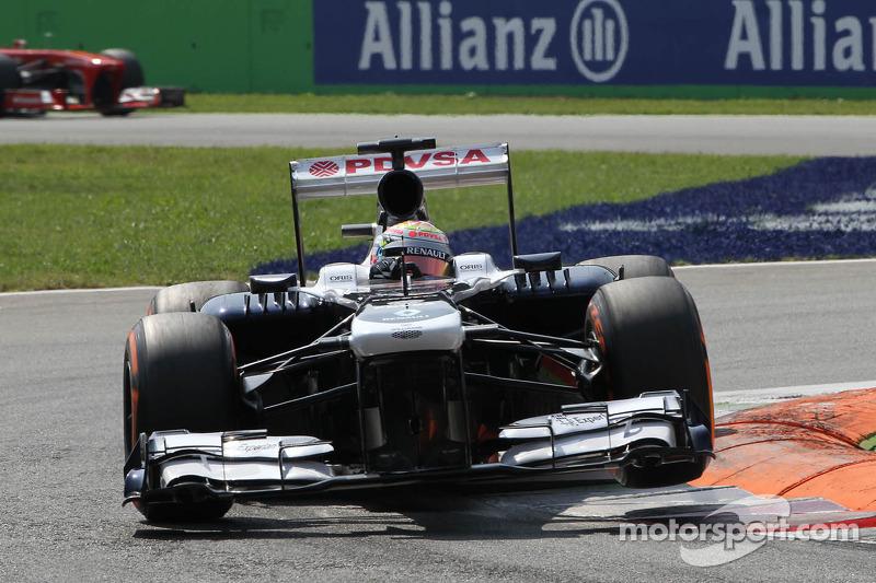 Maldonado finished 14th and Bottas 15th in today's Italian Grand Prix