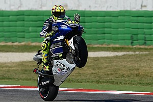 MotoGP Qualifying report Double front row for Yamaha in Misano qualifying battle