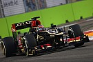 Both Lotus drivers happy after Friday practice for the Singapore GP