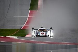WEC Practice report 6 Hours COTA: Audi lead wet Free Practice 1