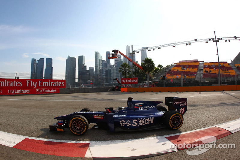 Bird cruises to Singapore sprint race win