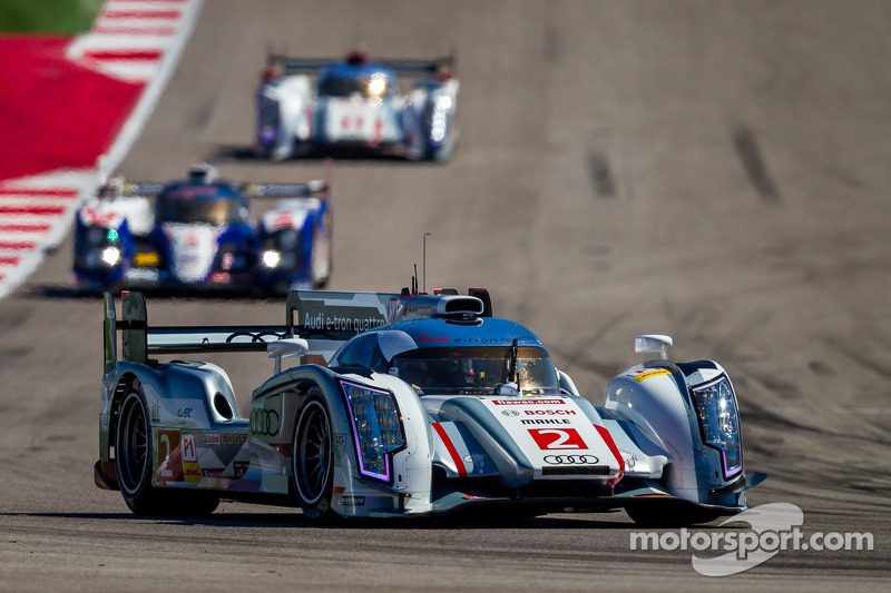 Audi celebrates 100th LMP overall victory with Austin win
