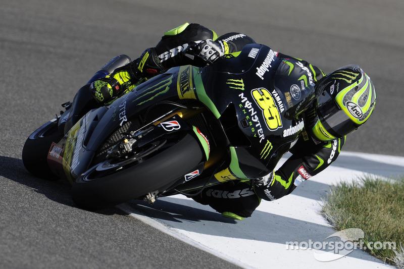 Crutchlow makes promising start at Motorland Aragon
