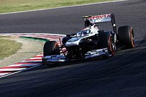 Formula 1 Practice report Objectives almost done for Williams in Friday's free practice at Japan