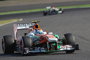Formula 1 Qualifying report Tough qualifying for Force India at Suzuka