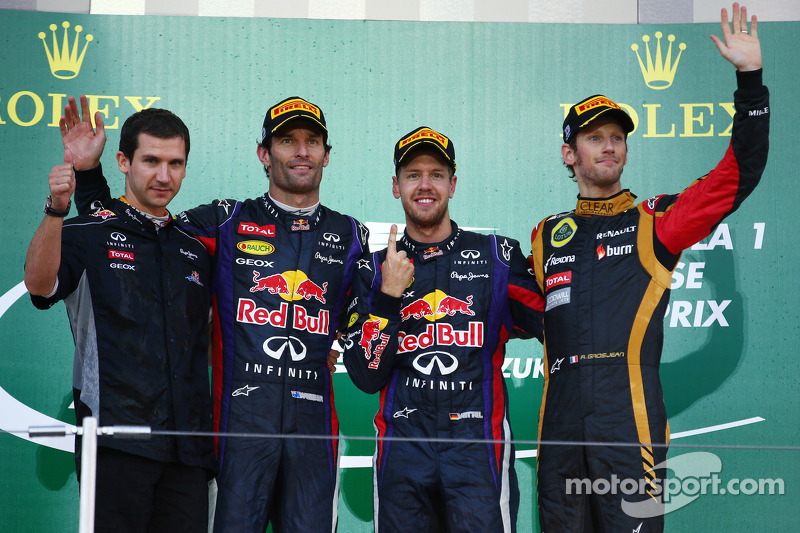 1-2 finish for Infiniti Red Bull Racing in Japanese GP