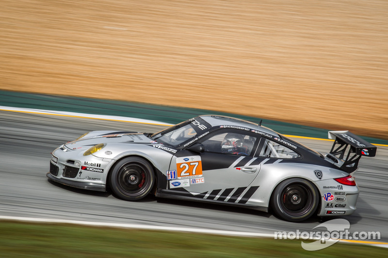 Dempsey Racing and Andy Lally qualify 3rd at Petit Le Mans