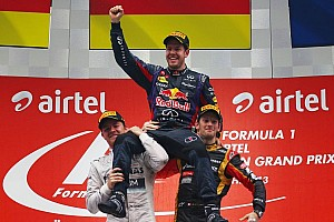 Formula 1 Breaking news The amazing Vettel: Four consecutive championships