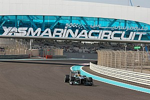 Formula 1 Practice report Mercedes shows competitiveness on Friday practice in Abu Dhabi