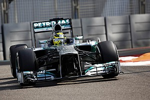 Formula 1 Race report Podium for Mercedes' Rosberg at Abu Dhabi