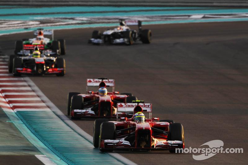 Abu Dhabi GP: A gritty drive from Ferrari duo