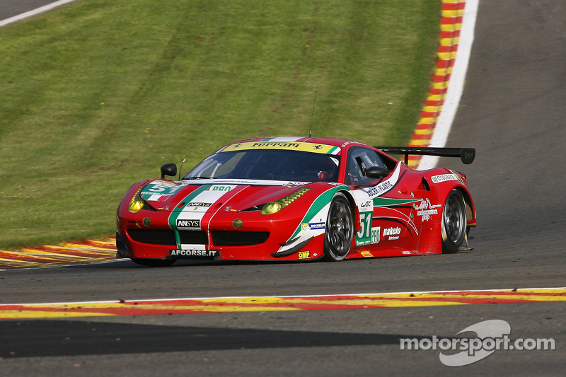 AF Corse in Shanghai: The target is to keep the first positions