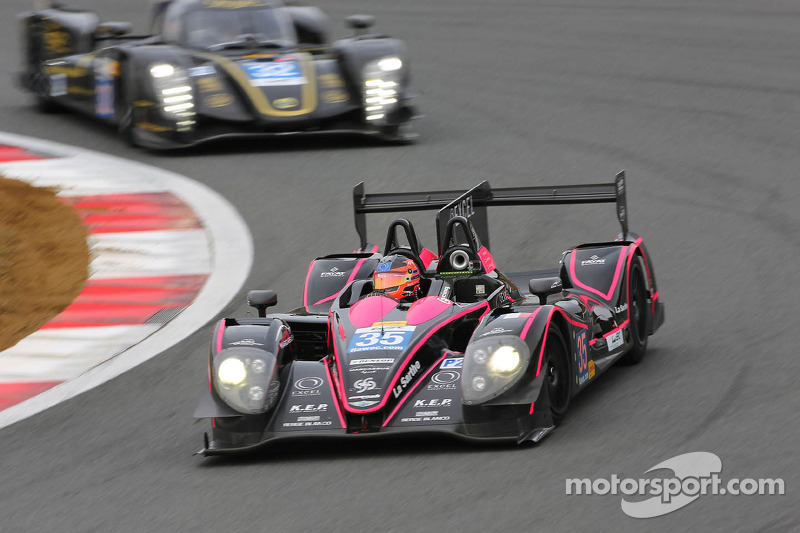 The three OAK Racing Morgan-Nissan LM P2s well placed for the Shanghai 6 Hours