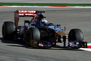 Formula 1 Practice report Just 20 laps for Toro Rosso's Kvyat on Friday practice for the US GP