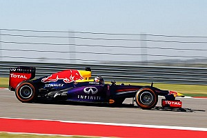 Formula 1 Practice report Red Bulls maintain control in Austin