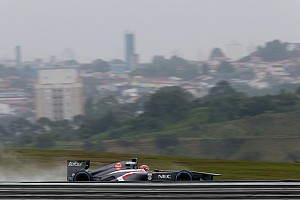 Formula 1 Practice report Mixed feelings for Sauber drives on Friday practice at Interlagos