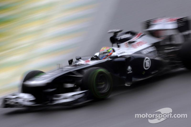 Maldonado finished 16th as Bottas retired in today's Brazilian GP