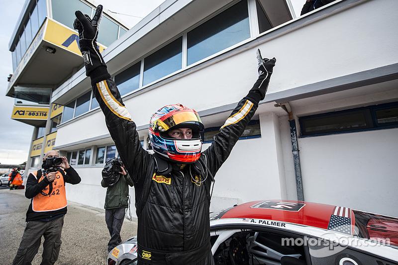 Andrew Palmer wins Lamborghini World title in Rome for the USA