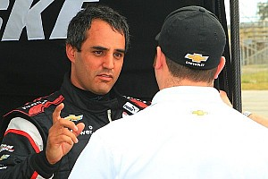 IndyCar Testing report Montoya continues education process at Phoenix