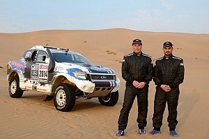 Dakar Special feature Team Ford Racing makes Dakar Rally debut