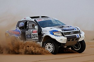 Dakar Preview Team Ford Racing set for Dakar Rally 2014