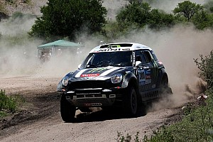 Dakar Stage report Peterhansel claims day 2 victory in the MINI ALL4 Racing and takes the overall lead