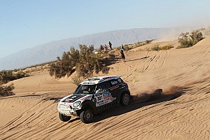 Dakar Stage report Colourful top-flight: Seven MINI ALL4 Racing in the top 10