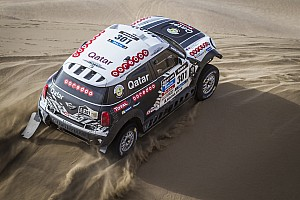 Dakar Stage report Second stage win for MINI ALL4 Racing driver Al-Attiyah